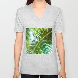 Aloha Lāhainā Palms Maui Hawaii Unisex V-Neck