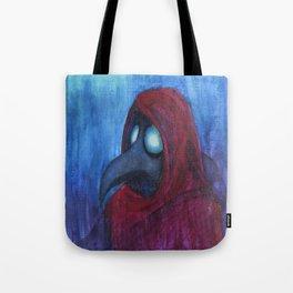 Hooded Plague Tote Bag