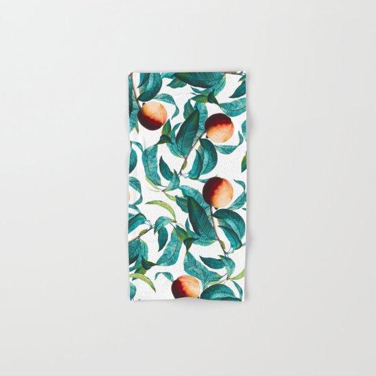 Fruit and Leaf Pattern Hand & Bath Towel
