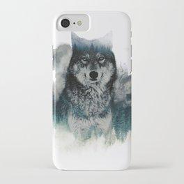 Faded Wildlife iPhone Case