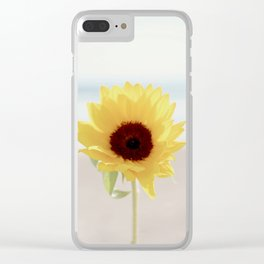 Daylight flower Clear iPhone Case