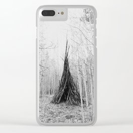 Aspen Teepee Clear iPhone Case