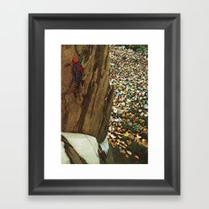 Time to lunch Framed Art Print