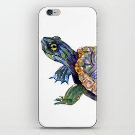 Slider Baby Turtle artwork iPhone Skin