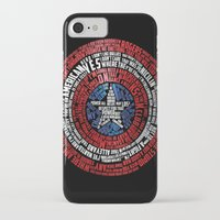 steve rogers iPhone & iPod Cases featuring Who is Steve Rogers? by dailymantra