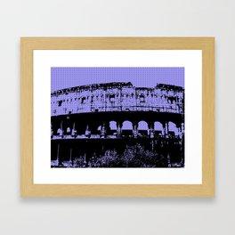 Pop Coliseum Framed Art Print
