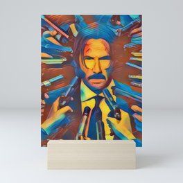 John Wick Mini Art Print