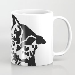 So Wise Black Owl Coffee Mug
