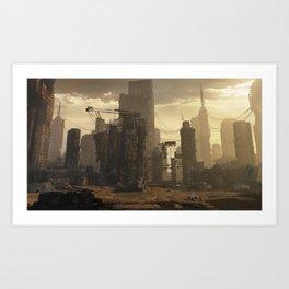 Sector 4 (Tech mechanika) Art Print