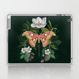 Atlas Moth Magnolia Laptop & iPad Skin