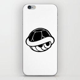 Turtle Shell Black iPhone Skin