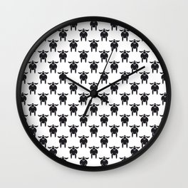 Easter sheep - Paschal Lamb Wall Clock