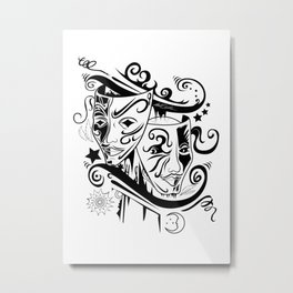 Zodiac - Gemini Metal Print