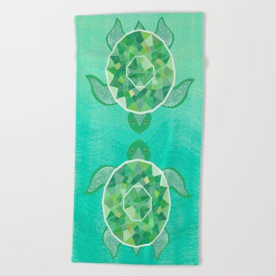 Turtle - Emerald Beach Towel