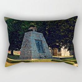 The war memorial of Eggendorf im Traunkreis Rectangular Pillow