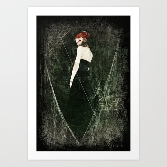Black Widow II Art Print