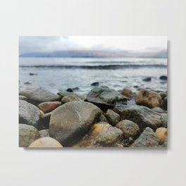 Scotland Rocks Metal Print