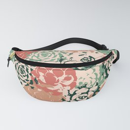 Stamped Succulents Fanny Pack