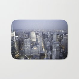 NYC from Empire State Building Bath Mat