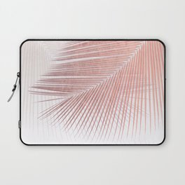 Palm leaf synchronicity - rose gold Laptop Sleeve