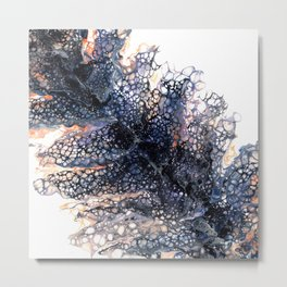 Feather leaf Metal Print