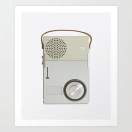 Braun TP1 Art Print