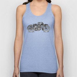 Motorcycle 2 Unisex Tank Top