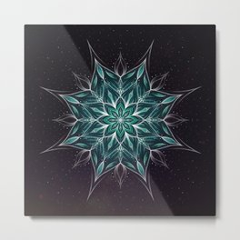 """Wedding"" mandala Metal Print"