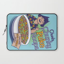 Chunk's Chunky Puke Hoops Laptop Sleeve