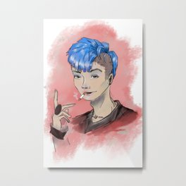 Do You Like My Hair? Metal Print