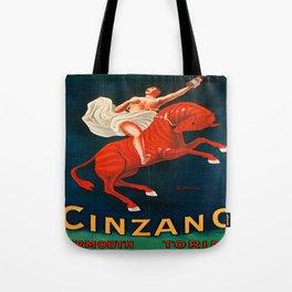 Vintage poster - Cinzano Vermouth Torino Tote Bag
