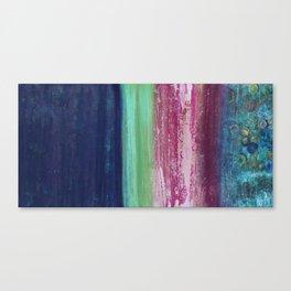 A night, a single word Canvas Print