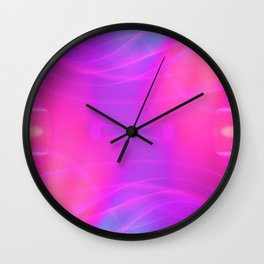 iDeal - Electrified CottonCandy Wall Clock