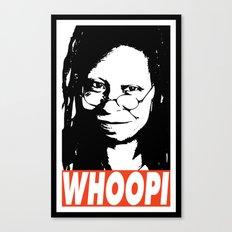 Whoopi Canvas Print