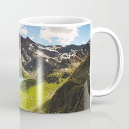 Italian Landscape Mountains and Lake Coffee Mug