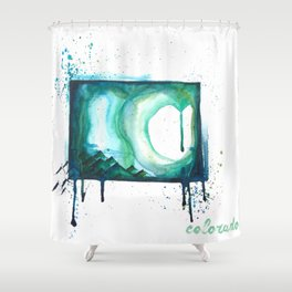 Colorado is Home Shower Curtain