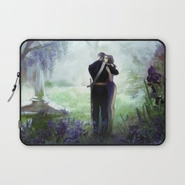 In your arms - Love embrace before departure - couple tight hug Laptop Sleeve