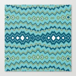 Tribal Seascape Canvas Print