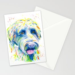 Maggie (The labradoodle) Stationery Cards