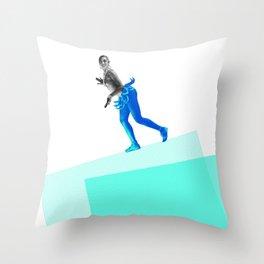 Jasephine Balances Herself Throw Pillow