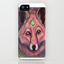 Fox of Wisdom iPhone Case