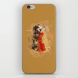 The Invention of the Kiss iPhone Skin