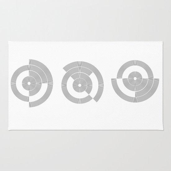 circle pattern 01 Rug