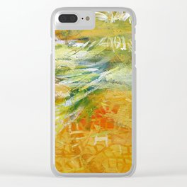 Yellow I Clear iPhone Case