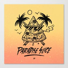 Paradise Slice Canvas Print