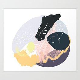 Muffin mess pt. 4 Art Print