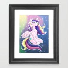 Princess Mi Amore Cadenza Framed Art Print