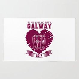 All Ireland Senior Hurling Champions: Galway (White/Maroon) Rug