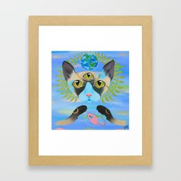 Paws of the Earth Framed Art Print