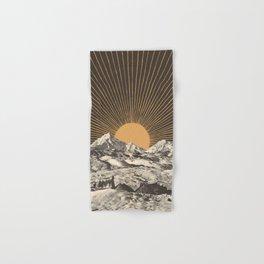 Mountainscape 6 - Night Sun Hand & Bath Towel
